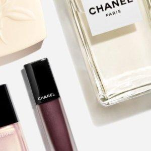 9折!博主推荐水粉底隐形毛!Chanel彩妆香氛9折!收山茶花洁面、丝绒口红、新品眼影!