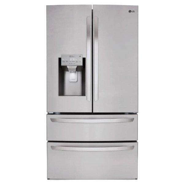27.8 cu. ft. 4门法式冰箱