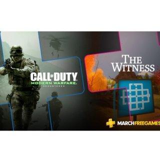 免费下载PS 3月会免游戏出炉 《现代战争 重制版》&《目击者》