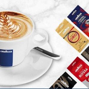 $3.96(原价$4.17)起收经典咖啡粉白菜价:Lavazza 意大利经典咖啡粉、豆/胶囊
