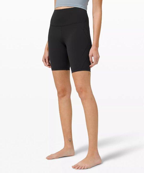 """Nulu™ Fold 高腰短裤 8"""""""
