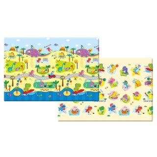 $69.99 包邮韩国产 Baby Care 儿童中号双面游戏爬行垫