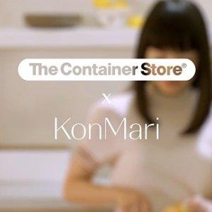 整理师近藤麻理惠合作款上新:The Container Store 新系列家居收纳好物开售