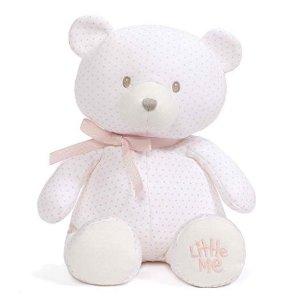 低至$7.99Baby GUND 超萌毛绒玩具,$9收封面史低价泰迪小熊