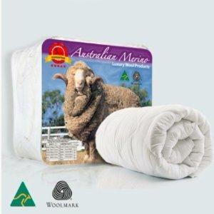 $56 (原价$274)四季适用手慢无:Australian Made 澳洲纯正羊毛被 多型号可选