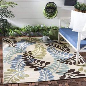 Safavieh Veranda 室内/室外地毯 4' x 5'7