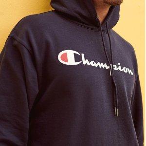 $36.78(原价$65)起Champion 封面经典款兜帽卫衣 多色可选