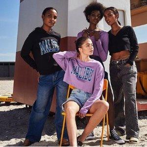 低至2.9折+额外7.5折Noisy May 新兴丹麦品牌 年轻妹妹们都爱 针织裙$13