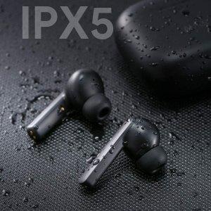 仅€29.99,原价€59.99史低价:AUKEY 蓝牙降噪耳机 AirPods Pro平替 高颜值磨砂黑 IPX5级防水