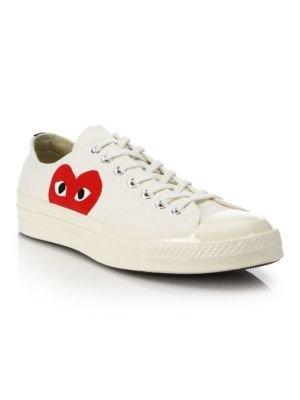 经典小红心低帮帆布鞋 2色