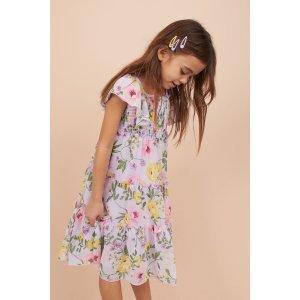 H&M花卉连衣裙