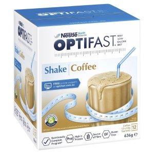 OptifastVLCD Shake Coffee 12 x 53g