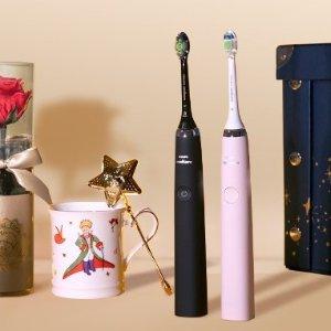 低至2.4折 £89收钻石牙刷折扣升级:Philips 飞利浦精选电动牙刷热促 千颂伊同款粉色补货