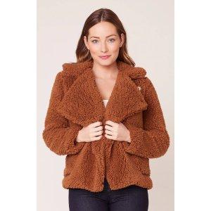 Soft Skills Faux Fur Jacket