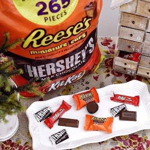 $18.69 一个只需$0.07Hershey's 多种口味巧克力混合包 265颗