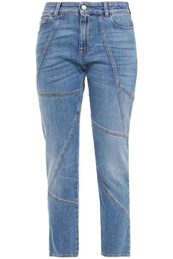 中腰牛仔裤