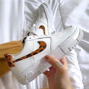 NikeAF1 Pixel SE 新款豹纹女鞋