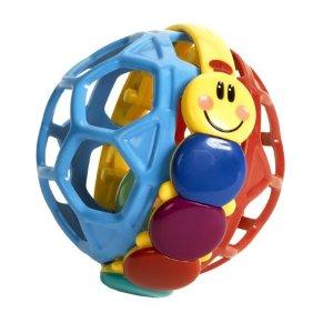 Baby Einstein Bendy Ball Rattle Toy - Walmart.com