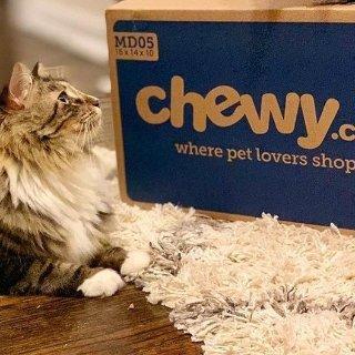 低至5折 可叠加首单订阅7折Chewy 全场宠物用品2018网络星期一大促