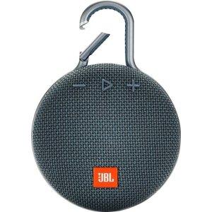 $39.99 三色可选JBL CLIP 3 防水便携蓝牙音箱