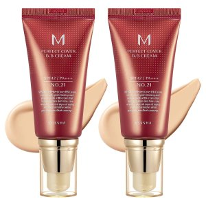 MisshaM BB Cream SPF 42 PA+++ 1.69 fl oz, 2-pack