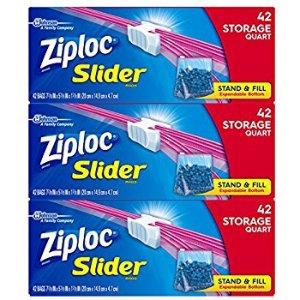 Amazon.com: Ziploc Gallon Slider Storage Bags, 96 Count: Health & Personal Care