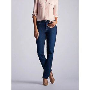 LeeWomen's Stretch Relaxed Fit Straight Leg Jean | Women's Jeans | Lee®