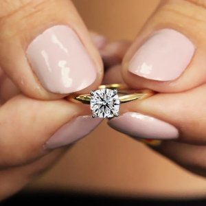 Dealmoon Exclusive $997.97 Diamond1 Carat Diamond Solitaire Ring @ SuperJeweler