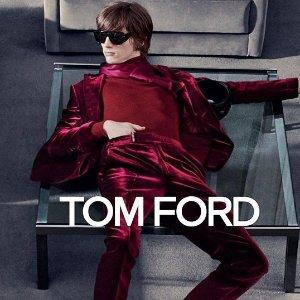 低至1.8折 $139收全黑logo墨镜最后一天:Tom Ford墨镜专场 复古前卫并存 遮脸神器 A爆全场