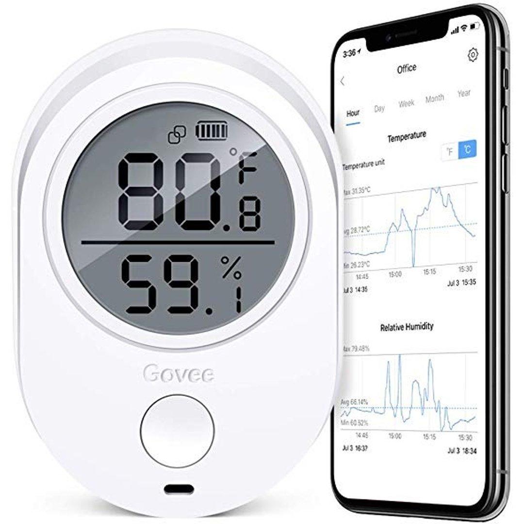 室内无线温度/湿度计仪表