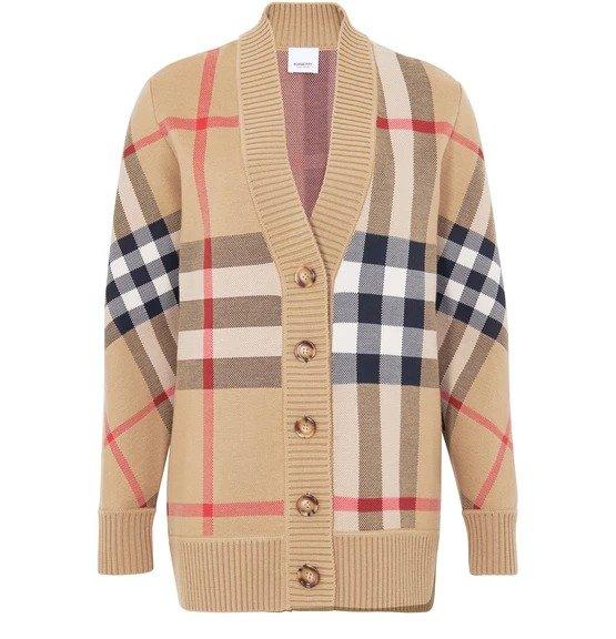 Check 格纹外套