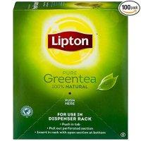 Lipton 天然绿茶 100包