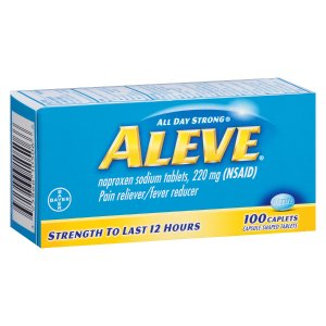 Aleve Pain Reliever/Fever Reducer Caplets | Walgreens