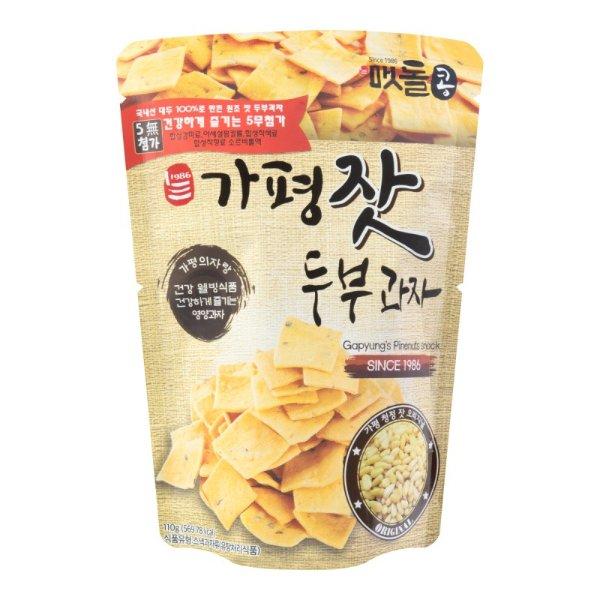 JAYONE 手制豆腐饼干 松子味 110g