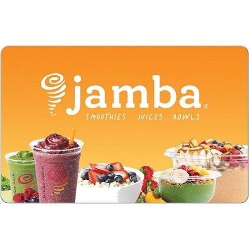 Jamba Juice $25 电子礼卡