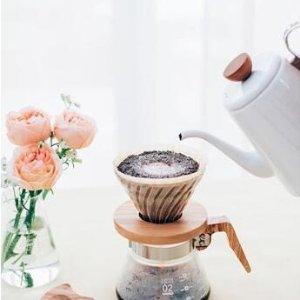加拿大黑五:Hario、Bodum 等专业手冲咖啡器具热卖 新手也适用