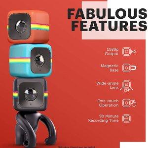 $42.56(原价$124.93)Polaroid Cube Act II HD 1080P高清智能WIFI运动相机