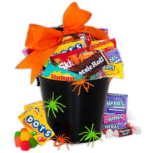 40% Off, just $9.99Halloween Candy Tin @ Gourmet Gift Baskets