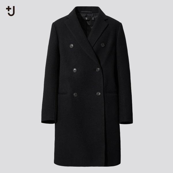 +j羊毛大衣