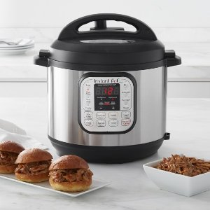 Instant Pot Duo 7-in-1 Programmable Pressure Cooker 6-Qt.