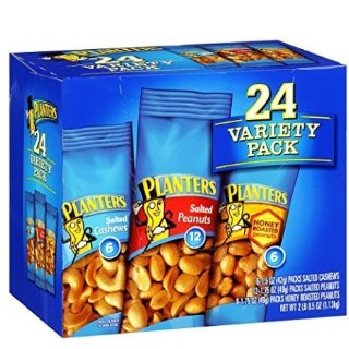 $8.53Planters Nut 24 Count-Variety Pack, 2 Lb 8.5 Ounce