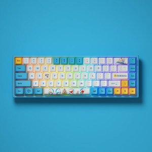 $79.99Akko 3068V2 哆啦A梦联名款 蓝牙机械键盘