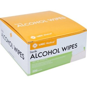 $3.82UEC Medical Wipes 200 ct