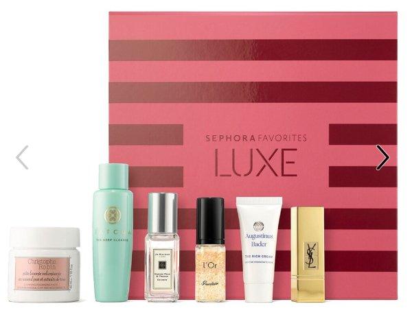 全员开抢:Sephora LUXE 超值套装开抢 含CR玫瑰清洁膏 祖玛珑香水