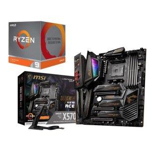$839.98 送无主之地3和黑曜石新作天外世界AMD RYZEN 9 3900X + MSI MEG X570 ACE 套装