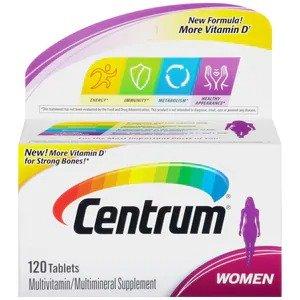 女性综合维生素120粒