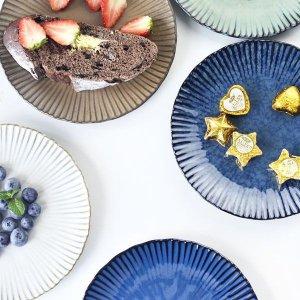 Fluted Dinner Plates - ApolloBox