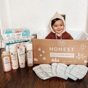 $9.97收屁屁喷雾The Honest Company 宝宝洗护产品、尿布湿等热卖