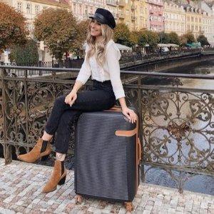 低至1.8折 $63收硬壳登机箱黑五预售:IT 行李箱促销热卖  出差旅行必备