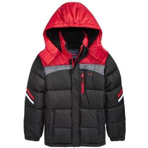 785184c3c CB SportsHooded Colorblocked Puffer Coat, Big Boys (8-20)